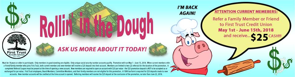 Rollin in the dough